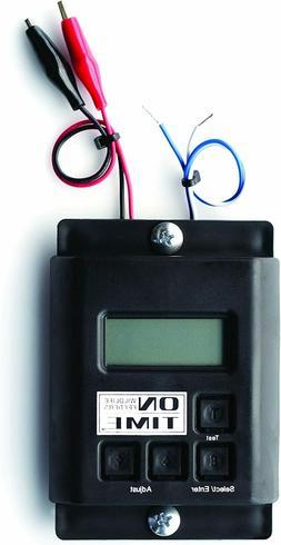 On Time 00503 Digital Timer LCD Display 6 Volt or 12 Volt