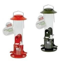 "1 Boots & Barkley Lightweight Plastic Wild Bird Feeder 13"" H"