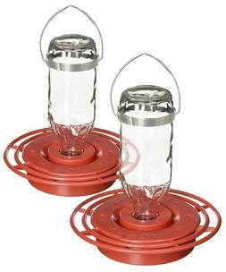 Pack of 2 Best-1 Glass Hummingbird Feeders, 8 oz.
