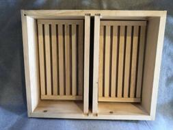 10 Frame Hive Top Feeder With Floating Racks