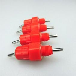 10 pcs Water Nipple Chicken Farm Feeders and Drinkers poultr