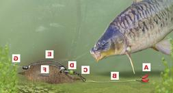 10 wire inline method feeders for carp