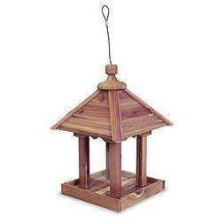 Pennington 100521909 Cedar Jr Pavilion Bird Feeder, 2.5 lb A