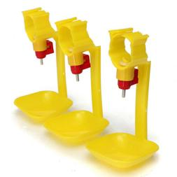10pcs Automatic Poultry Water Cups / Drinker/ Feeder for Duc