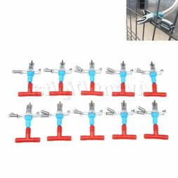 10×Rabbit Water Feeders Nipples Automatic for Rodents Bunny
