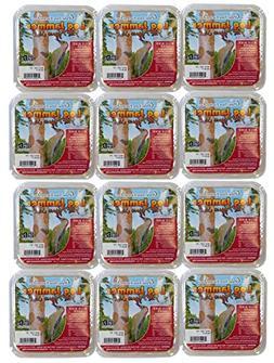 12 Packs of Pine Tree Farms Log Jammer Hot Pepper Suet- 3 Pl