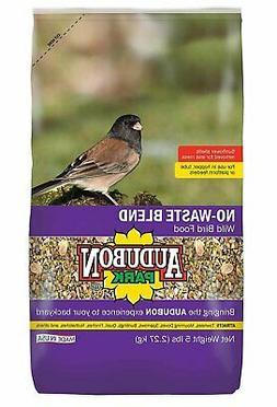 Audubon Park 12228 No-Waste Blend Wild Bird Food, 5-Pound