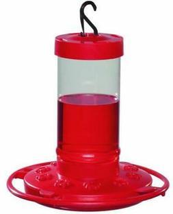 16-Oz Outdoor Garden Lawn Plastic Hanging Hummingbird Seed F