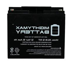 Mighty Max 12V 18AH SLA Internal Thread Replacement Battery