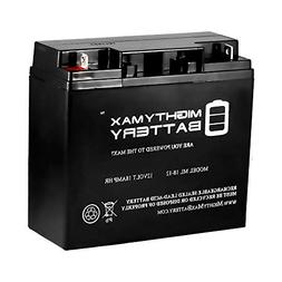 Mighty Max Battery 12V 18AH SLA Battery for Rascal Electric