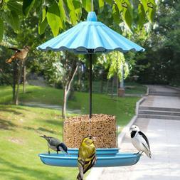 1PC Outdoor Garden Bird Feeder Seed Catcher For Hanging Or P