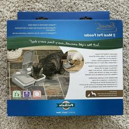 PetSafe 2-Meal Automatic Dog and Cat Feeder, Dispenses Dog F