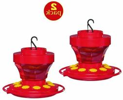 2 pack 3091 hummingbird nectar flower feeder