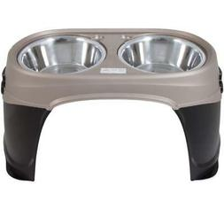 Petmate Easy Reach Pet Diner Elevated Dog Bowls 2 Sizes 2 Po