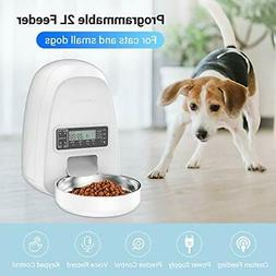 DOGNESS 2L Pet FeederAutomatic Cat Feeder | Timed Programmab