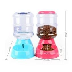 3.5L Large Automatic Pet Food Drink Dispenser Dog Cat Feeder