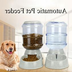 3.8 Automatic Bowl Water Drinker Dispenser Fountain Pet Dogs