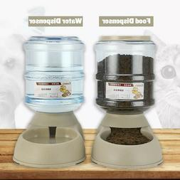 3.8L Automatic Food Water Dispenser,Dish Bowl Feeder for Pet