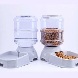 3.8L Pet Automatic Feeder Dog Cat Drinking Bowl For Dog Wate