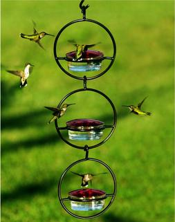 3 Awesome Sphere Glass Hummingbird Feeders for Nectar, Mealw