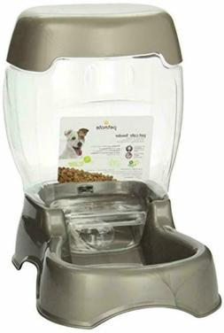 3 Gallon Petmate's Pet Cafe cat and dog feeder features grav