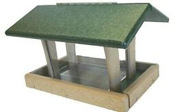 Birds Choice 3 Qt. 4-Sided Hopper Recycled Bird Feeder SN4-2