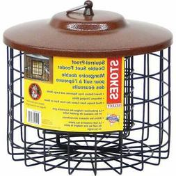 Stokes Select 38069 Squirrel Proof Double Suet Feeder...NEW