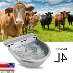 4L Large Automatic Bowl Water Drinker Dispenser For Horse Sh