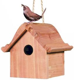 Perky-Pet 50301 Wren Home Cedar Birdhouse