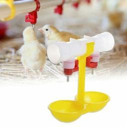 5pcs Chicken Water Drinker Feeders For Poultry Quail Chicken