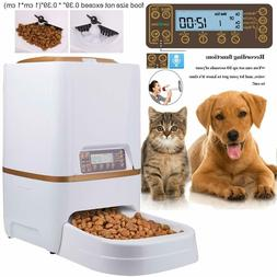 Automatic Pet Feeder Dog&Cat Programmable Animal Food Bowl T