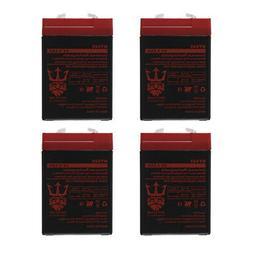 6v 4 5ah sla battery replaces ub645