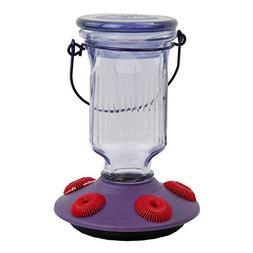 Perky-Pet 9101-2 Lavender Field Top-Fill Glass Hummingbird F