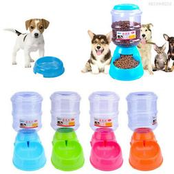 928F 3.5L Large Automatic Pet Feeder Drinking Fountain For C