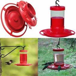 993051 546 16 OZ Hummingbird Feeder RED 1 Pack Abis Lawn & G