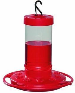First Nature 993051-546 16 oz. Hummingbird Feeder Red