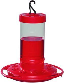 First Nature 993051-546 16 oz. Hummingbird Feeder, Red