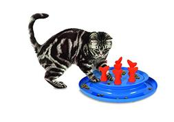 Petmate Jackson Galaxy Go Fish Slow Feeder Puzzle Bowl