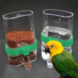 Bird Water Food Feeder Parrot Canary Automatic Feeding Drink