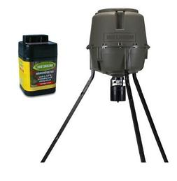MOULTRIE 30 Gallon Adjustable Height Quick-Lock Elite Deer F