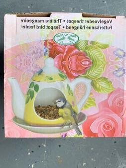 Adorable Teapot Bird Feeder!!