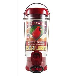 American Bird Cardinal Feeder Red 8 inch