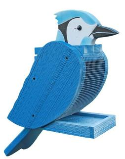 Amish-Made Bird-Shaped Decorative Outdoor Bird Feeders