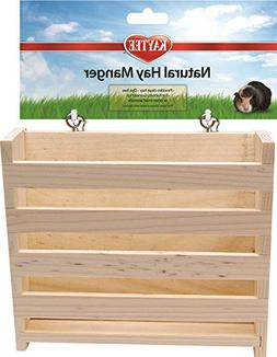 "Kaytee Small Animal Natural Hay Manger Feeder, 6.5"" L X 2.5"""