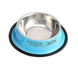 Delight eShop 1 x Anti-Skid Stainless Steel Pet Dog Cat Wate