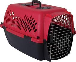 Petmate 21090 Aspen Pet Porter Heavy-Duty Pet Carrier With S