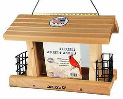 WoodLink AT4 Deluxe Cedar Feeder with Suet
