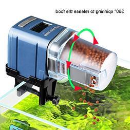 auto fish food feeder battery operated automatic aquarium ta