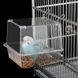 Automatic Bird Feeder Garden Transparent Cage Accessories Ou