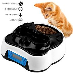 Pedy Automatic Cat Feeder 2 in 1, Dog Auto Feeder Pet Food D
